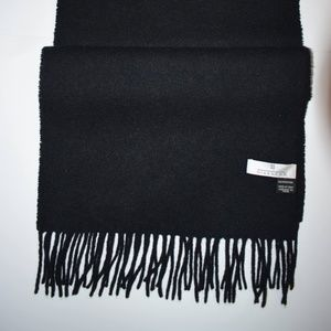 Auth Givenchy Black Cashmere Scarf